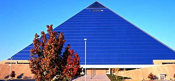 Things to do in Memphis - Memphis pyramid