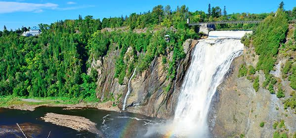 Things to do in Qebec City - Montmorency Falls