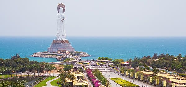 Things to do in Sanya - Nanshan Temple and the Goddess of Mercy