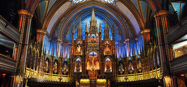 Things to do in Montreal - Notre-Dame Basilica