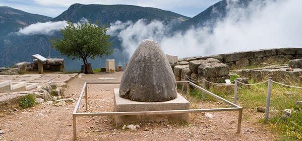 Things to do in Delphi - Omphalos Stone or Baetylus