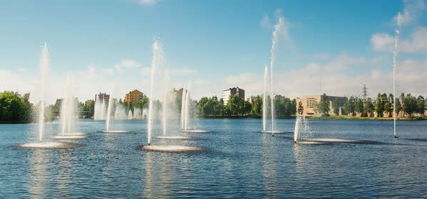 Things to do in Oulu - Oulujoki Fountains