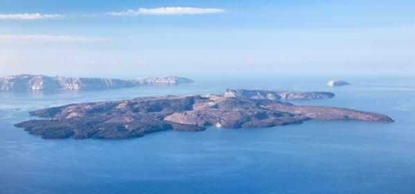 Things to do in Santorini - Palea Kameni