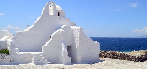 Things to do in Mykonos - Panagia Paraportiani