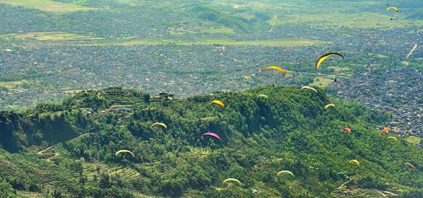 Things to do in Pokhara - Paragliding from Sarangkot to Phewa Lake
