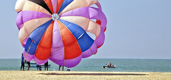 Things to do in Goa - Paragliding