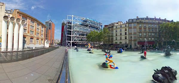 Things to do in Paris - Place Beaubourg