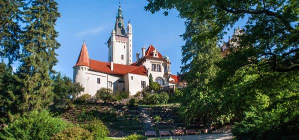 Things to do in Prague - Průhonice castle and park