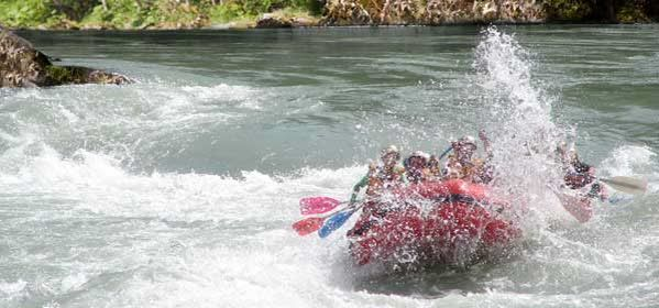 Rafting on the Orontes