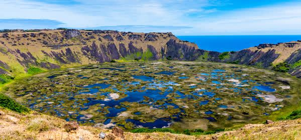 Things to do in Easter Island - Rano Kau volcano