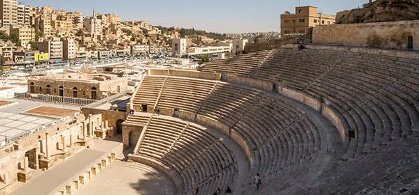 Things to do in Amman - Roman Theatre