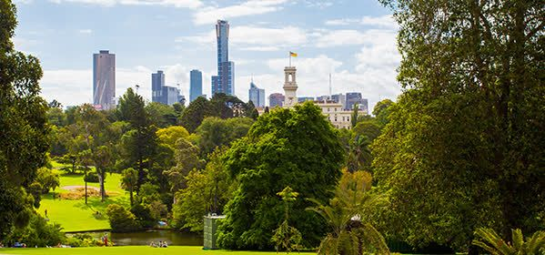 Things to do in Melbourne - Royal Botanic Gardens