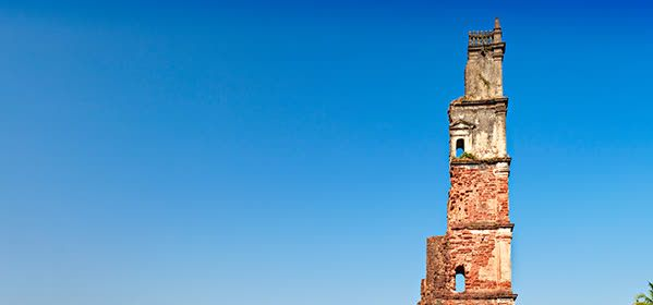 Things to do in Goa - Ruins of the Church of St. Augustine