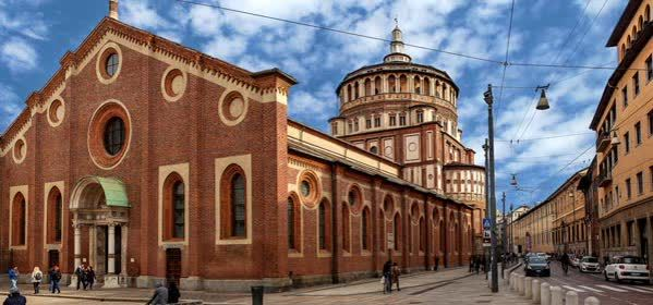 Things to do in Milan - Santa Maria delle Grazie