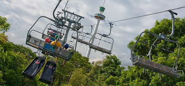 Things to do in Sentosa Island - Sentosa Skyline Luge & Skyride