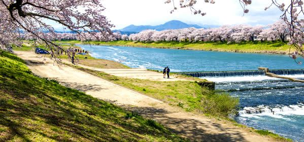 Things to do in Sendai - Shiroishi River