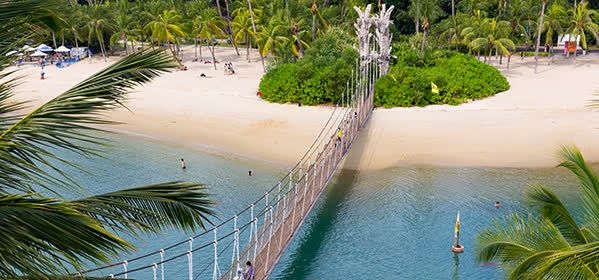 Things to do in Sentosa Island - Siloso Beach Bridge