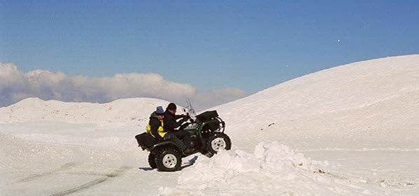 Things to do in Kfardebian - Snowmobiling, Ski-Doo and ATV summer tours