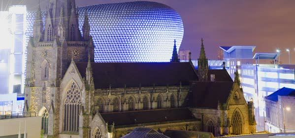 Things to do in Birmingham - St Martin in the Bull Ring