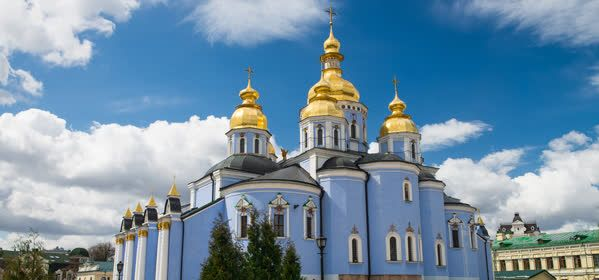 Things to do in Kiev - St Michael's Golden-Domed Monastery