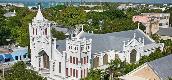 Things to do in Key West - St. Paul's Episcopal Church
