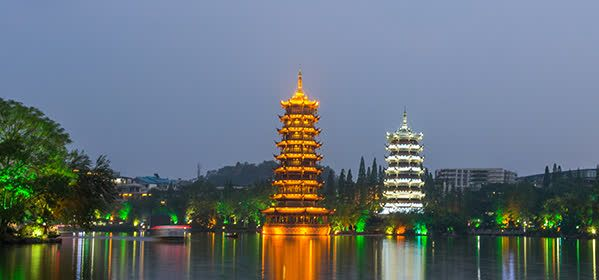 Things to do in Guilin - Sun and Moon Twin Pagodas