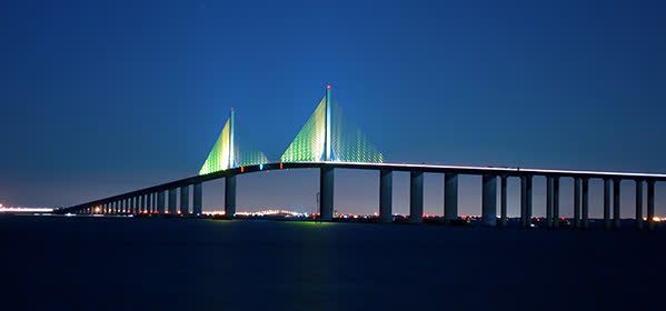 Things to do in Tampa - Sunshine Skyway