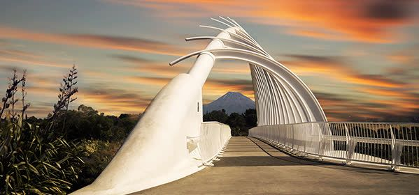 Things to do in New Plymouth - Te Rewa Rewa Bridge