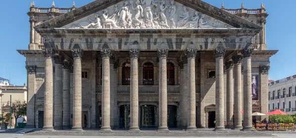 Things to do in Guadalajara - Teatro Degollado