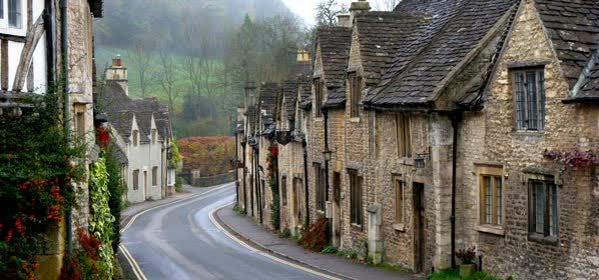 Things to do in Wiltshire - The Cotswold Village of Castle Combe