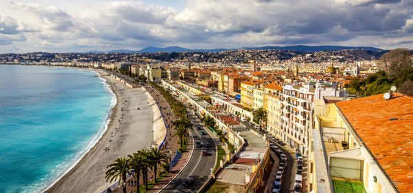 Things to do in Nice - The English Promenade