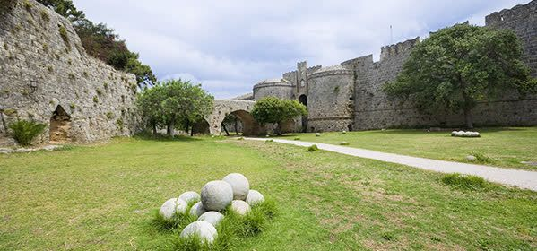 Things to do in Rhodes - The Moat