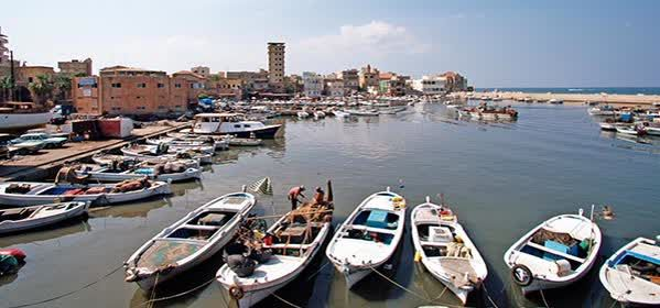 Things to do in Tyre - The Port of Tyre
