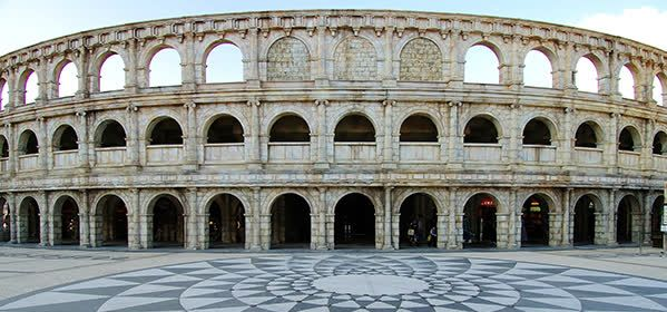 Things to do in Macau - The Roman Amphitheater in Fisherman Wharf