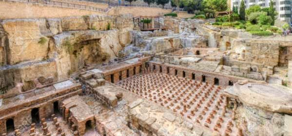 Things to do in Beirut - The Roman Baths