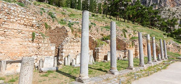 Things to do in Delphi - The Sacred Way