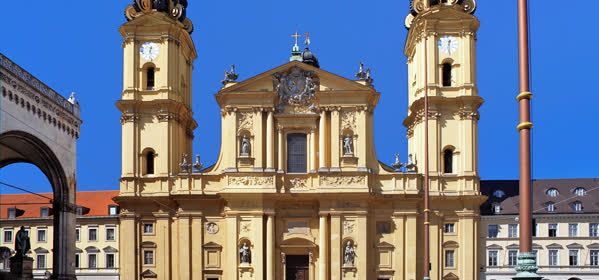 Things to do in Munich - The Theatine Church of St. Cajetan