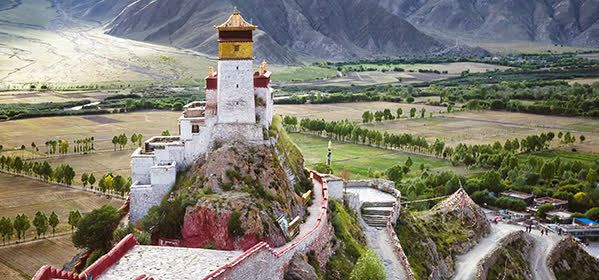 Things to do in Tibet - The Yumbulagang Palace