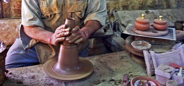 The potteries in Mina