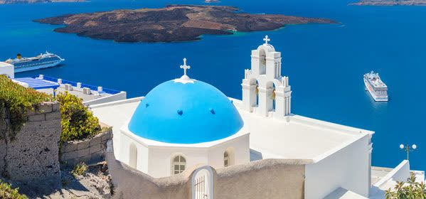 Things to do in Santorini - Three Bells of Fira