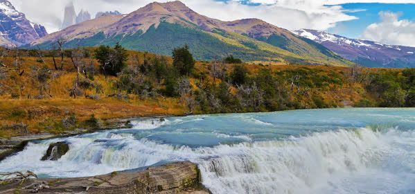 Things to do in Torres del Paine  - Torres del Paine Cascades