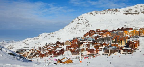 Top Ski Destinations in France - Val Thorens