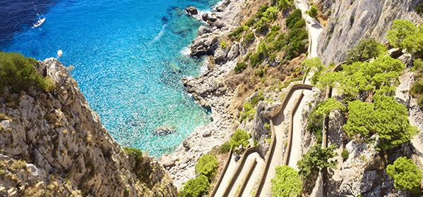 Things to do in Capri - Via Krupp View