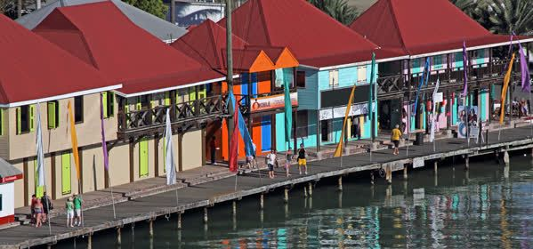 Things to do in Castries - Waterfront Buildings