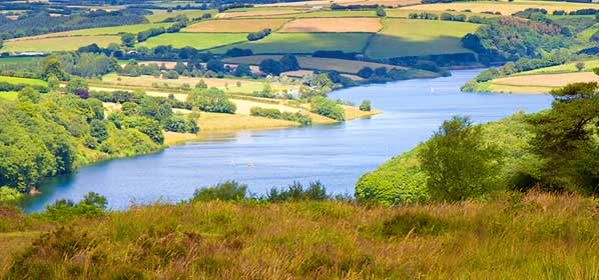 Things to do in Somerset - Wimbleball Lake Exmoor National Park