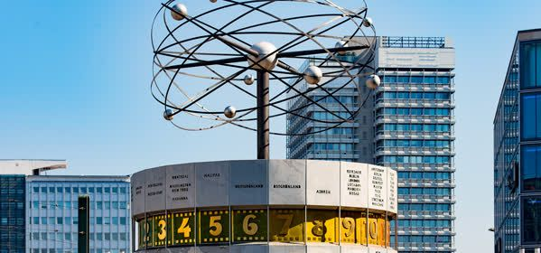 Things to do in Berlin - World Time Clock