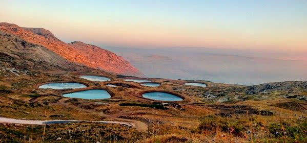Things to do in Byblos - El Laqlouq lakes view