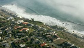 Aerial View of Malibu Beach
