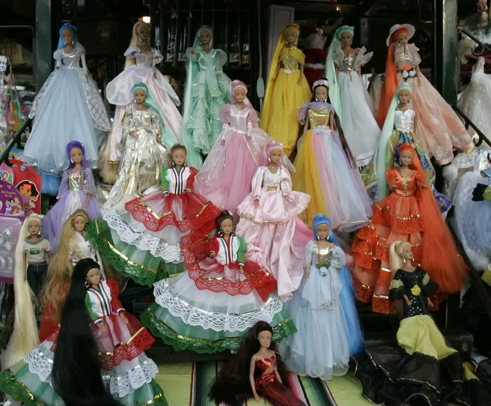 Barbie Dolls in princess Dresses