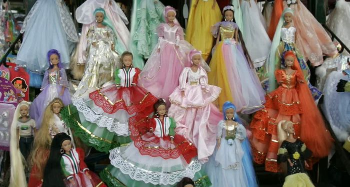 title: Barbie Dolls in princess Dresses